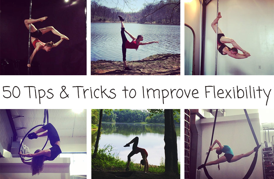50 tips and tricks to improve flexibility