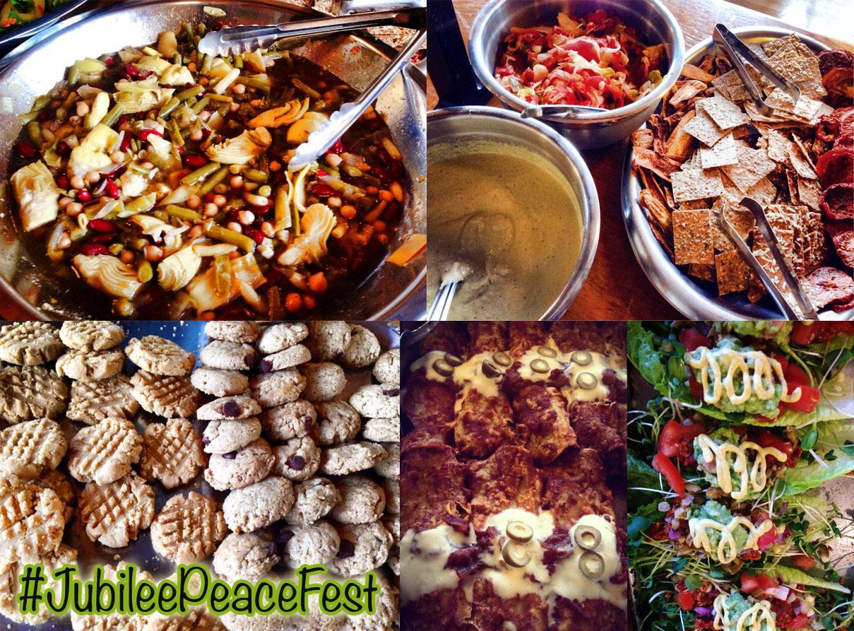 Jubilee Peace Fest Food