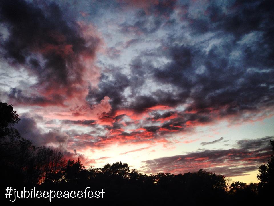 Jubilee Peace Fest Sunrise