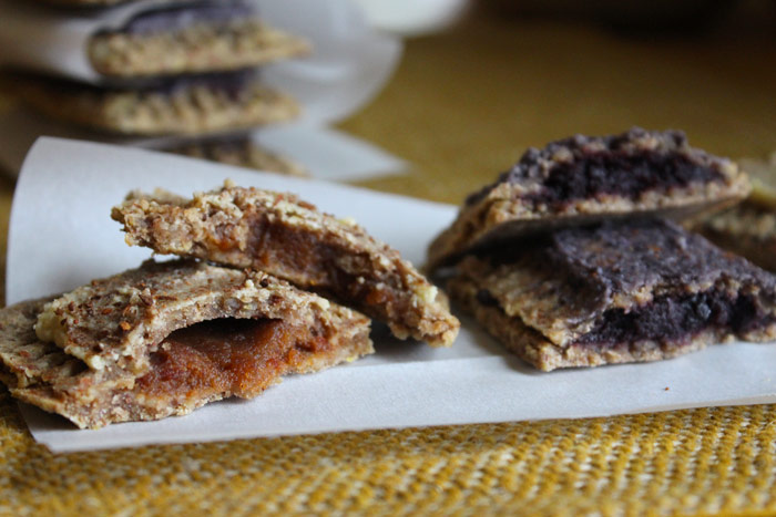 Raw Vegan Pop Tarts