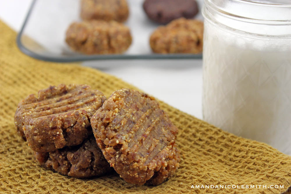 5 minute peanut butter cookies