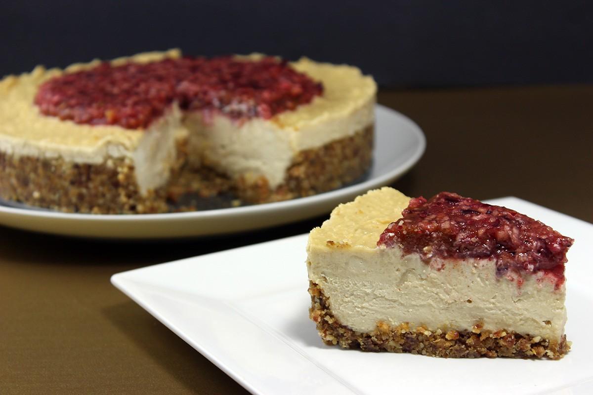 Cultured Cashew Cheesecake