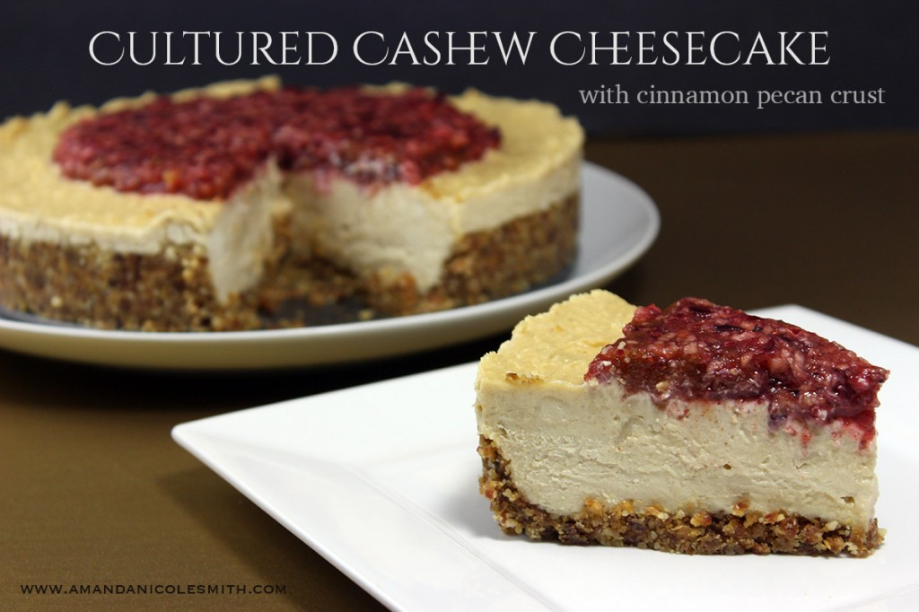 cultured cashew cheesecake