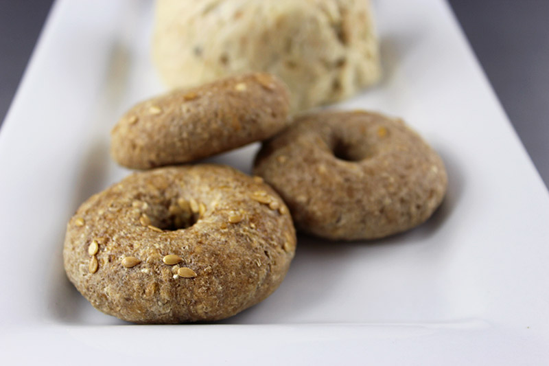 Sprouted Raw Vegan Bagels