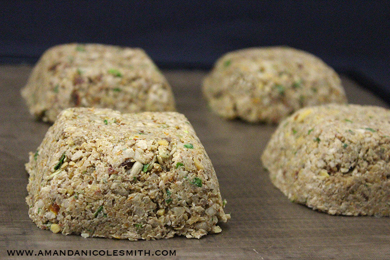 Raw Vegan Meatloaf Before Dehydration