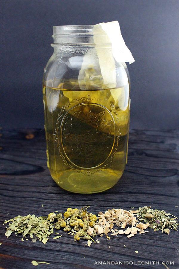 Sweet Herbal Tea Recipe