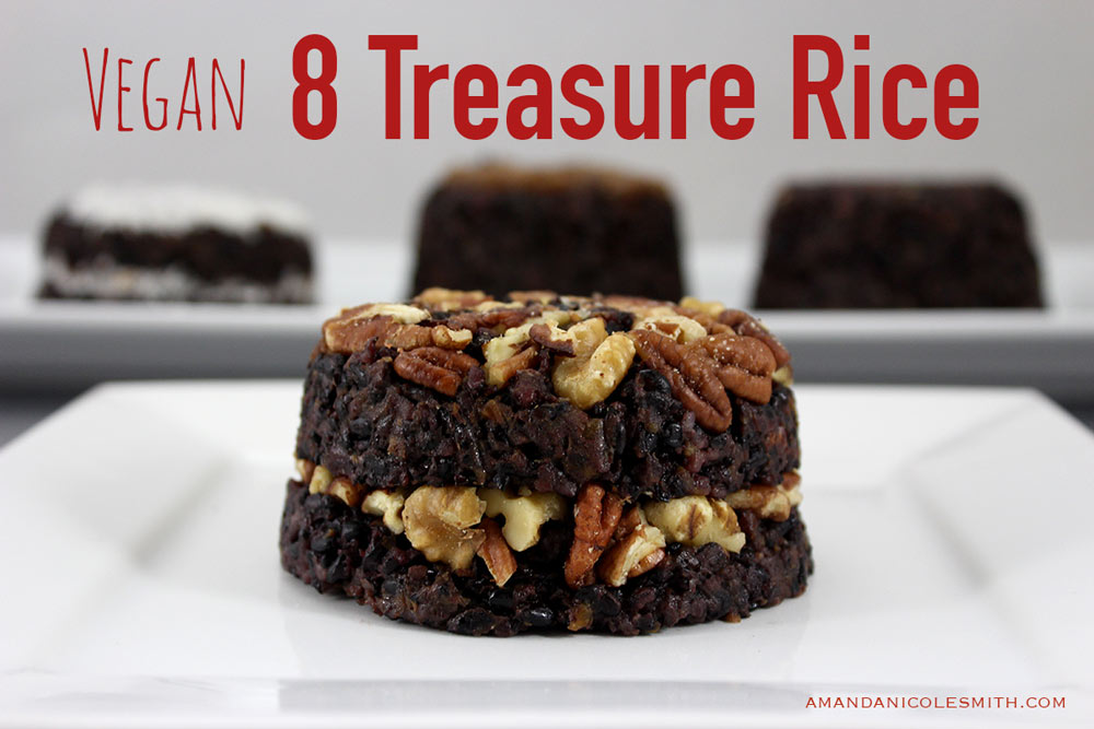 Vegan 8 Treasure Rice Pudding