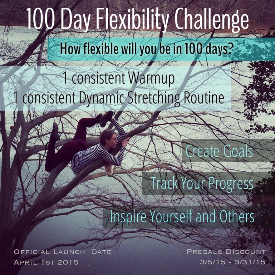 100 Day Flexibility Challenge