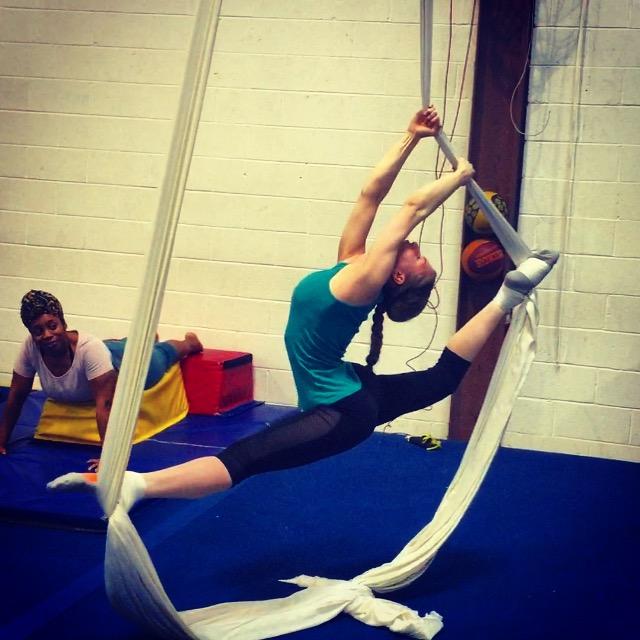 The Flexibility Challenge | Rainbow Marchenko Prep on Silks |  Day 4