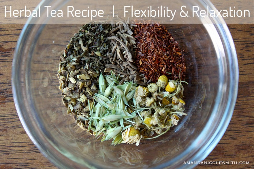 Roots and Herbs for Relaxation and Flexibility