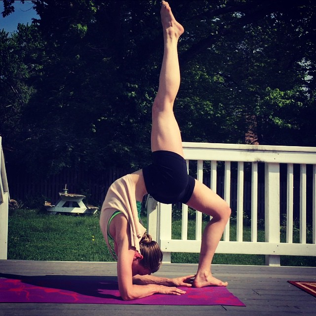 The flexibility challenge - forearm bridge