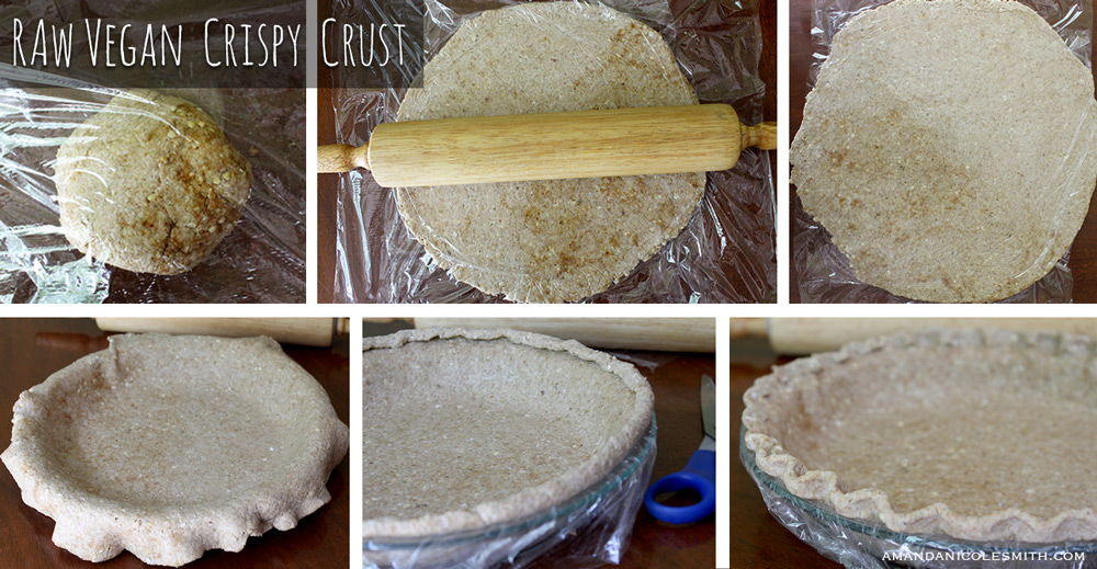 Raw Vegan Crispy Pie Crust