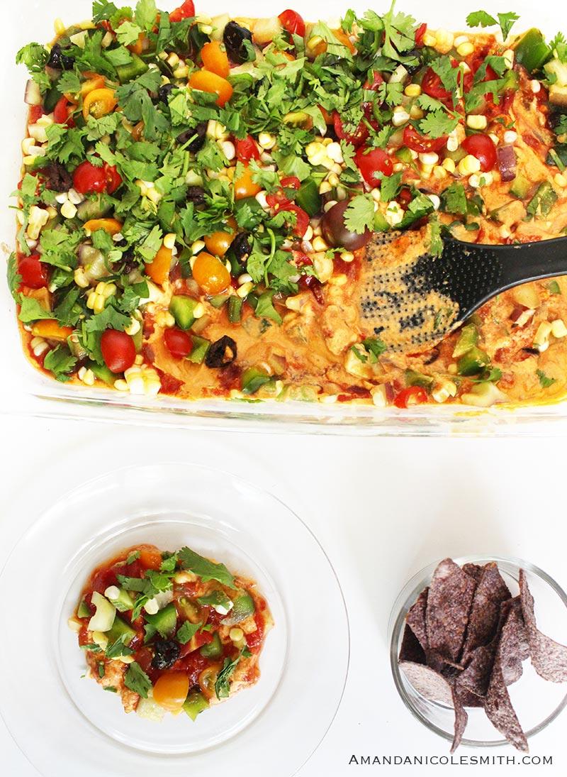 Raw Vegan Taco Dip