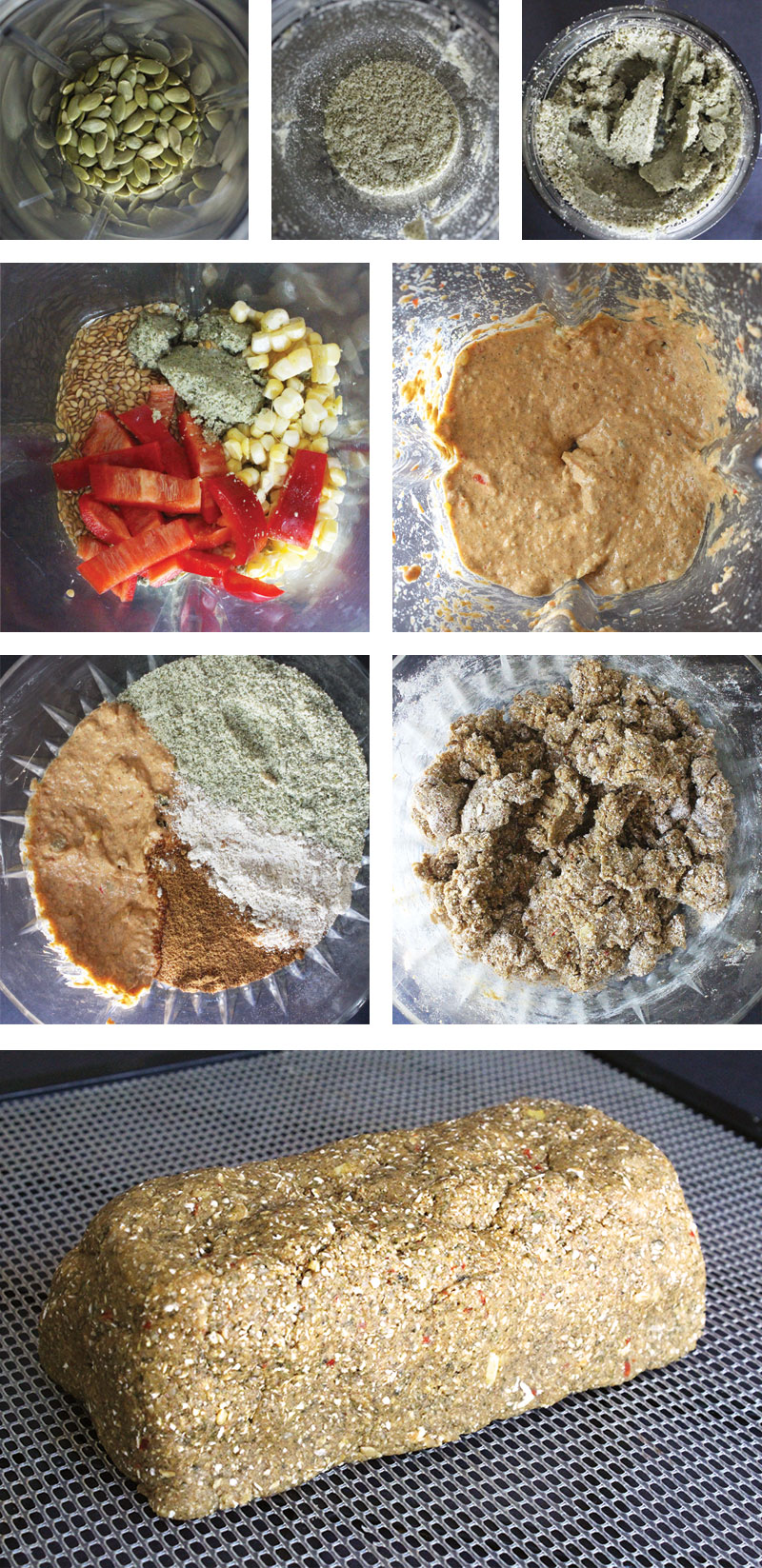 How To Make Raw Vegan Bread