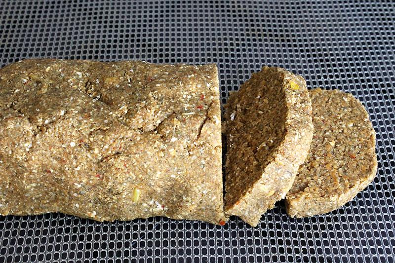Raw Vegan Corn Bread