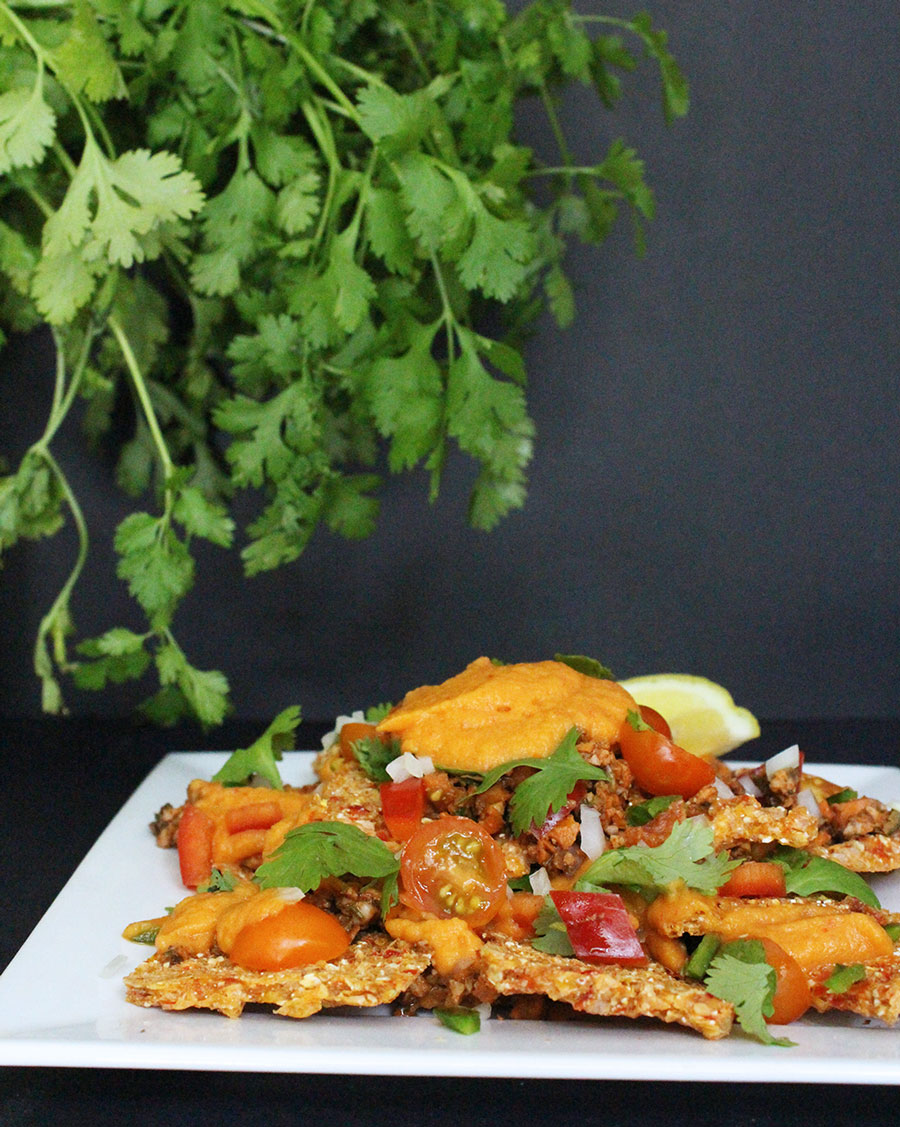 Raw Vegan Nachos