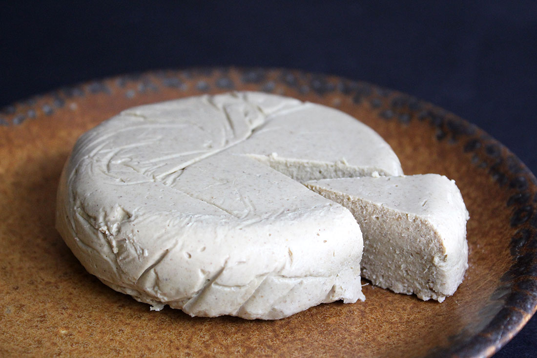 Vegan Sesame Cheese