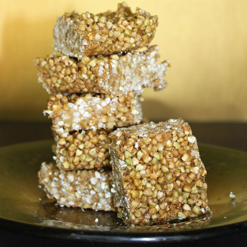 Raw Vegan Buckwheat Crispy Treat