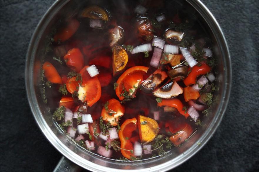 Veggie Blood Soup