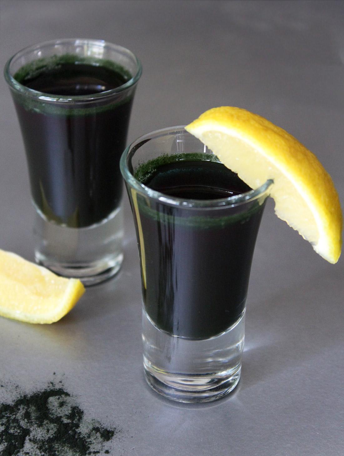 Alkalizing Spirulina Shots