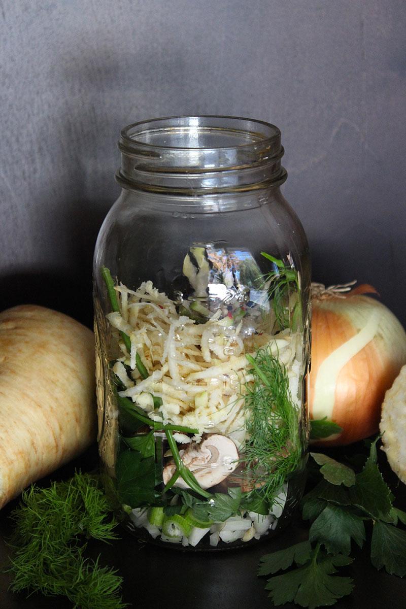 Vegetable Tea Broth