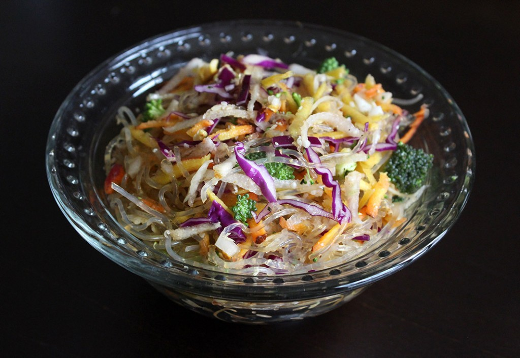 Raw Vegan Stir Fry