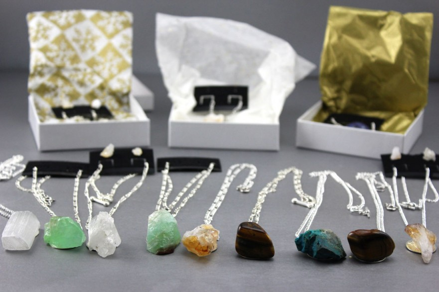 Handmade Stone Necklace Gifts