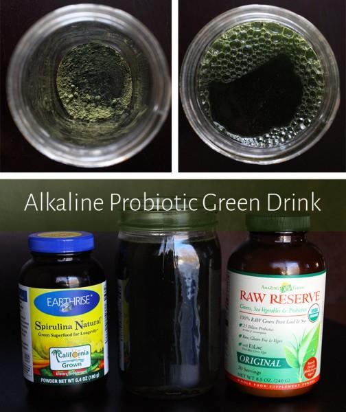 Simple Alkaline Probiotic Green Drink