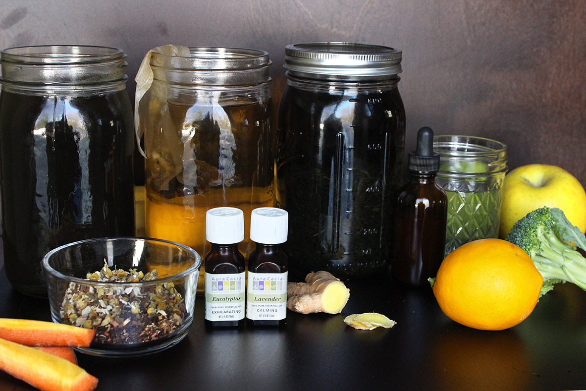 How To Naturally Stop a Cold or Flu