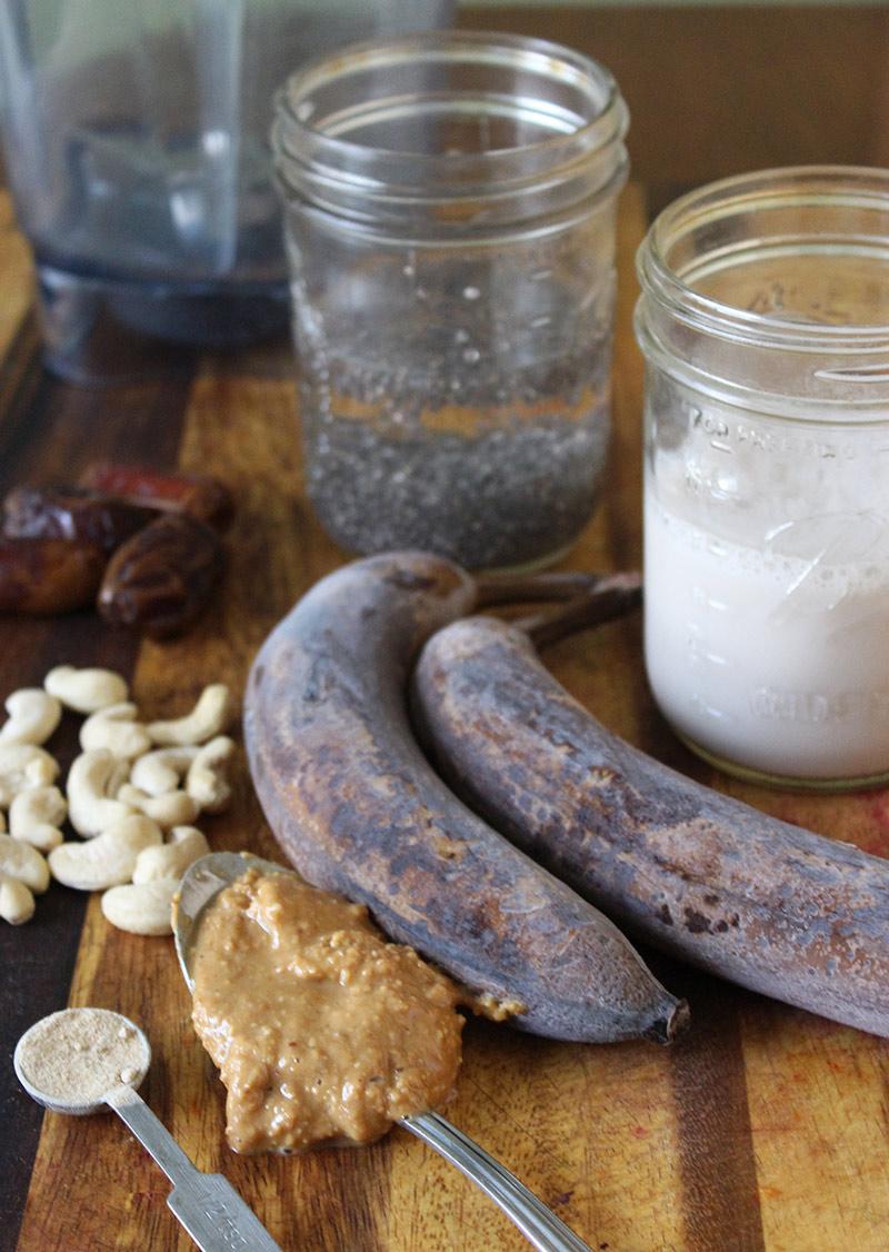 Chia Banana Nut Milkshake