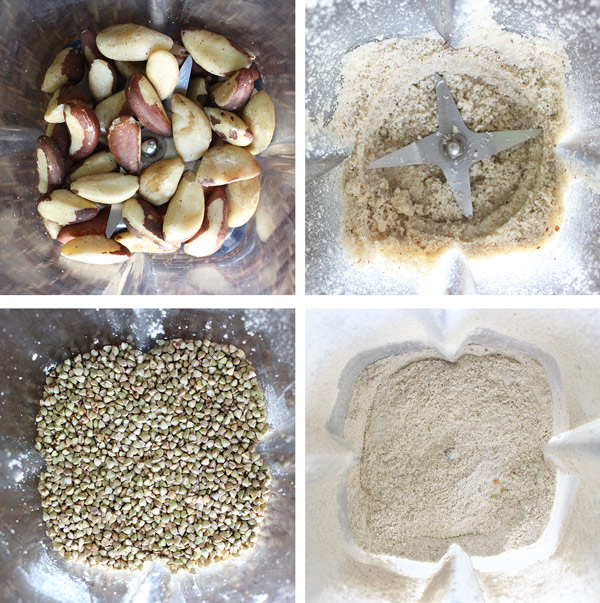 Brazil Nut and Buckwheat Flour