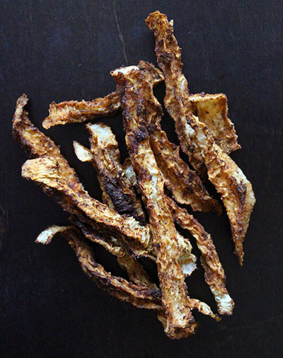 Jicama Jerky Fries