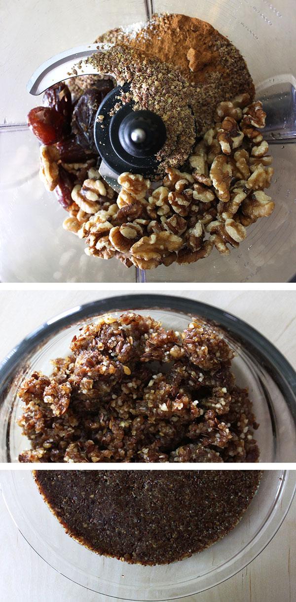 Cinnamon Walnut Pie Crust