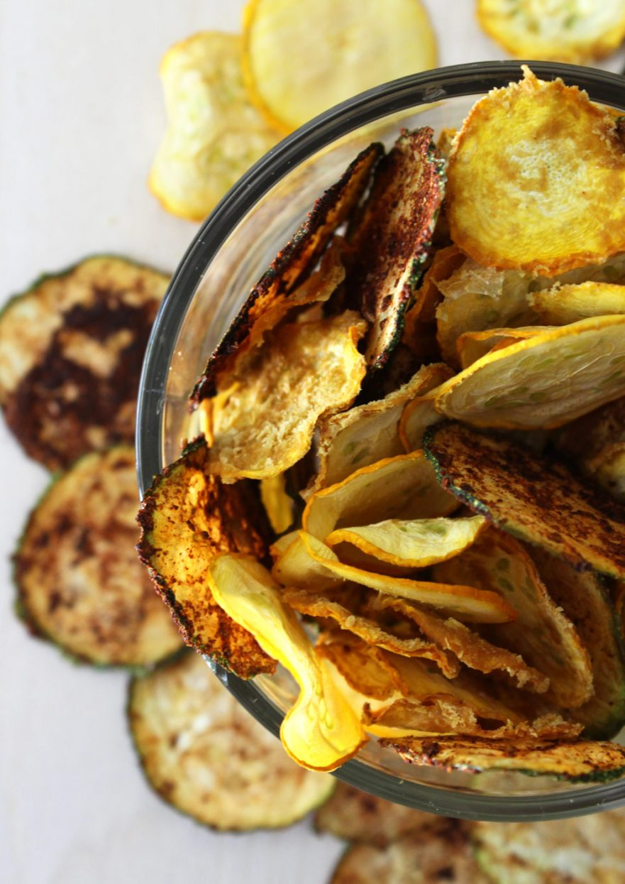 Raw Vegan Zucchini Chips