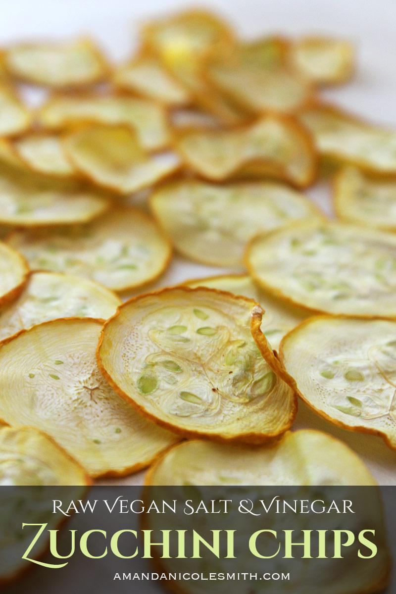 Salt & Vinegar Zucchini ChipsSalt & Vinegar Zucchini Chips