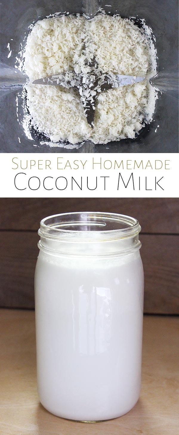 homemade coconut milk recipe