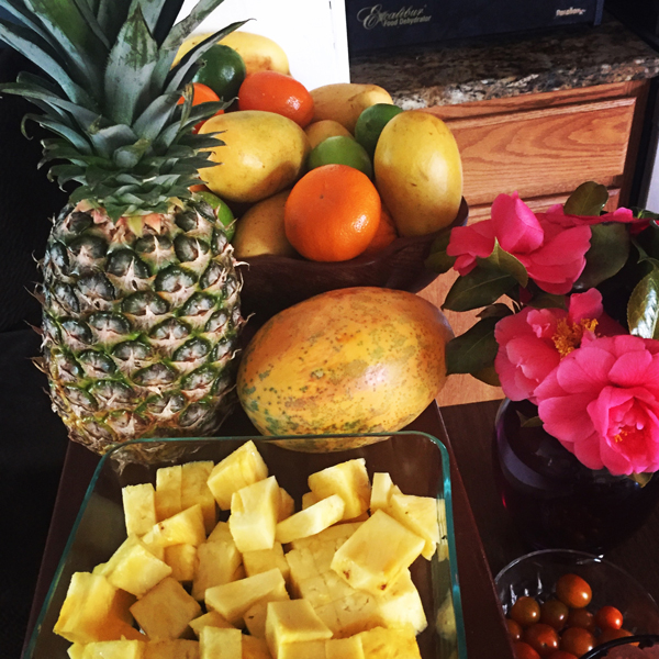 Fruits for Breakfast in April
